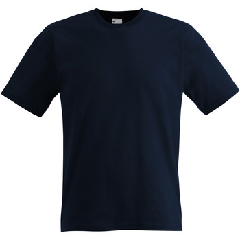 textil Herre T-shirts m. korte ærmer Universal Textiles 61082 Midnight Blue
