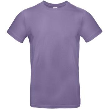 textil Herre T-shirts m. korte ærmer B And C TU03T Millennial Lilac