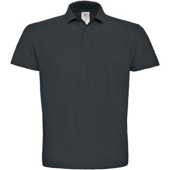 textil Herre Polo-t-shirts m. korte ærmer B And C PUI10 Anthracite