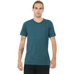 textil Herre T-shirts m. korte ærmer Bella + Canvas CA3413 Steel Blue Triblend