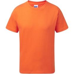 textil Børn T-shirts m. korte ærmer Jerzees Schoolgear J155B Orange