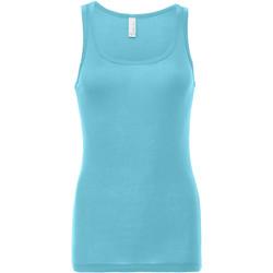 textil Dame Toppe / T-shirts uden ærmer Bella + Canvas BE088 Seafoam