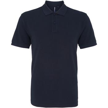 textil Herre Polo-t-shirts m. korte ærmer Asquith & Fox AQ010 French Navy