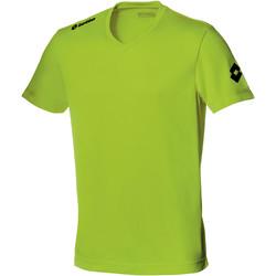 textil Herre T-shirts m. korte ærmer Lotto LT034 Lemon