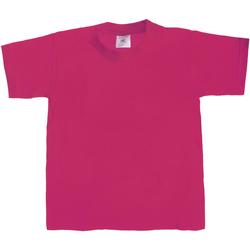 textil Børn T-shirts m. korte ærmer B And C Exact 190 Sorbet