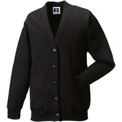 textil Børn Veste / Cardigans Jerzees Schoolgear 273B Black
