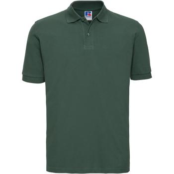 textil Herre Polo-t-shirts m. korte ærmer Russell 569M Bottle Green
