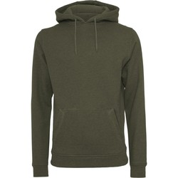 textil Herre Sweatshirts Build Your Brand BY011 Olive