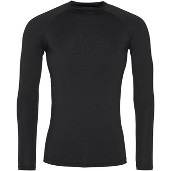 textil Herre Langærmede T-shirts Awdis JC018 Jet Black