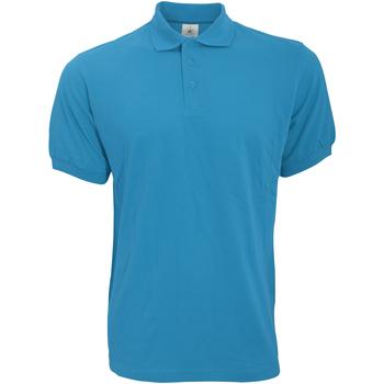 textil Herre Polo-t-shirts m. korte ærmer B And C PU409 Atoll