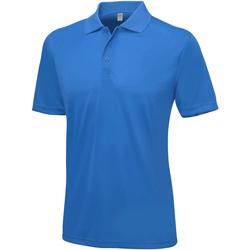 textil Herre Polo-t-shirts m. korte ærmer Awdis Smooth Royal Blue