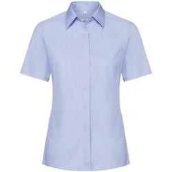textil Dame Skjorter / Skjortebluser Russell 961F Bright Sky