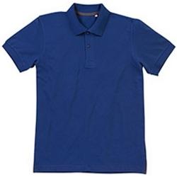 textil Herre Polo-t-shirts m. korte ærmer Stedman Stars Henry True Blue