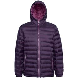 textil Herre Dynejakker 2786 TS016 Aubergine/Mulberry