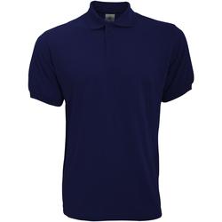 textil Herre Polo-t-shirts m. korte ærmer B And C PU409 Navy Blue