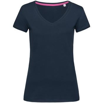 textil Dame T-shirts m. korte ærmer Stedman Stars Megan Blue