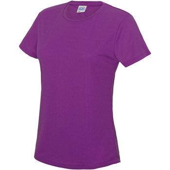textil Dame T-shirts m. korte ærmer Awdis JC005 Magenta Magic