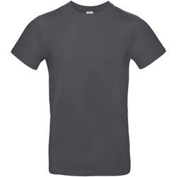 textil Herre T-shirts m. korte ærmer B And C TU03T Dark Grey
