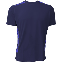textil Herre T-shirts m. korte ærmer Gamegear KK930 Navy/Electric Blue