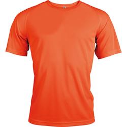 textil Herre T-shirts m. korte ærmer Kariban Proact PA438 Flourescent Orange