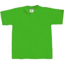 textil Børn T-shirts m. korte ærmer B And C Exact 190 Kelly Green