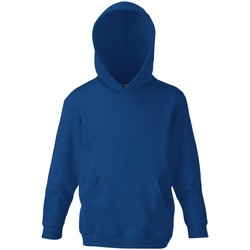 textil Børn Sweatshirts Fruit Of The Loom 62043 Navy