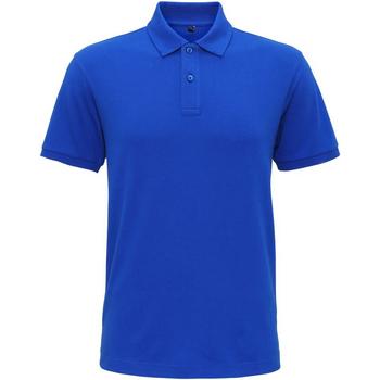 textil Herre Polo-t-shirts m. korte ærmer Asquith & Fox AQ005 Bright Royal