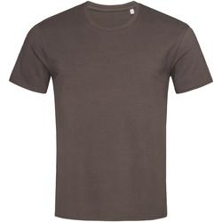 textil Herre T-shirts m. korte ærmer Stedman  Dark Chocolate Brown
