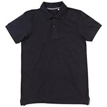 textil Herre Polo-t-shirts m. korte ærmer Stedman Stars Henry Black Opal