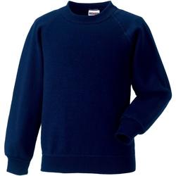 textil Børn Sweatshirts Jerzees Schoolgear 7620B French Navy