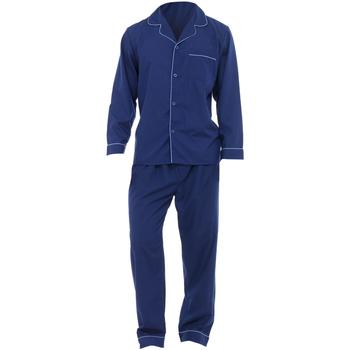 textil Herre Pyjamas / Natskjorte Universal Textiles  Navy