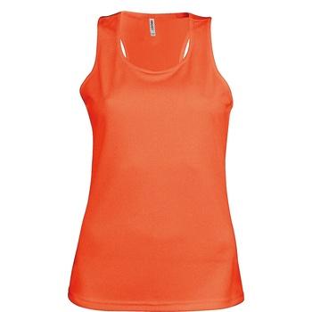 textil Dame Toppe / T-shirts uden ærmer Kariban Proact Proact Fluorescent Orange