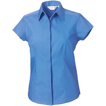 textil Dame Skjorter / Skjortebluser Russell 925F Corporate Blue