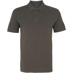 textil Herre Polo-t-shirts m. korte ærmer Asquith & Fox AQ010 Slate