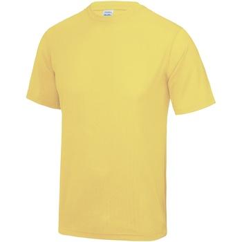 textil Herre T-shirts m. korte ærmer Awdis JC001 Sherbet Lemon
