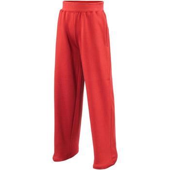 textil Børn Træningsbukser Awdis  Fire Red