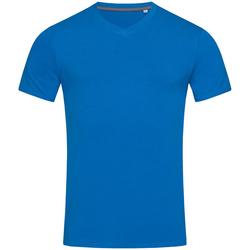 textil Herre T-shirts m. korte ærmer Stedman Stars Clive King Blue