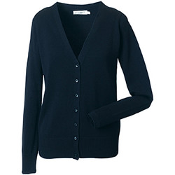 textil Dame Veste / Cardigans Russell 715F French Navy