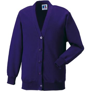 textil Børn Veste / Cardigans Jerzees Schoolgear 273B Purple