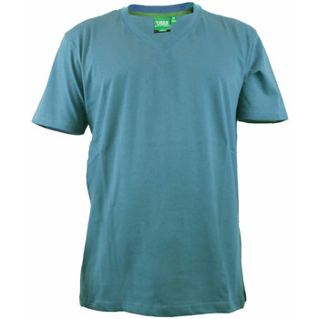 textil Herre T-shirts m. korte ærmer Duke Signature-2 Teal