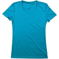 textil Dame T-shirts m. korte ærmer Stedman  Hawaii Blue