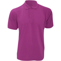 textil Herre Polo-t-shirts m. korte ærmer Kustom Kit KK403 Raspberry