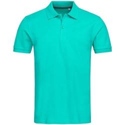 textil Herre Polo-t-shirts m. korte ærmer Stedman Stars Henry Bahama Green