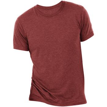 textil Herre T-shirts m. korte ærmer Bella + Canvas CA3413 Cardinal Triblend