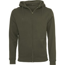 textil Herre Sweatshirts Build Your Brand BY012 Olive