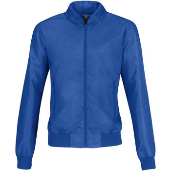 textil Dame Jakker B And C B658F Royal Blue/ Neon Orange