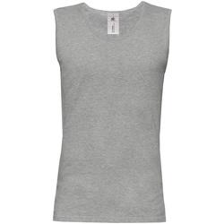 textil Herre Toppe / T-shirts uden ærmer B And C BA110 Sport Grey