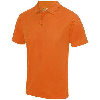 textil Herre Polo-t-shirts m. korte ærmer Awdis JC040 Electric Orange