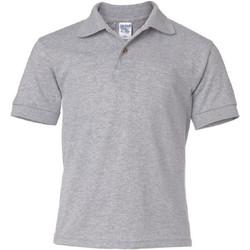 textil Børn Polo-t-shirts m. korte ærmer Gildan 8800B Sport Grey