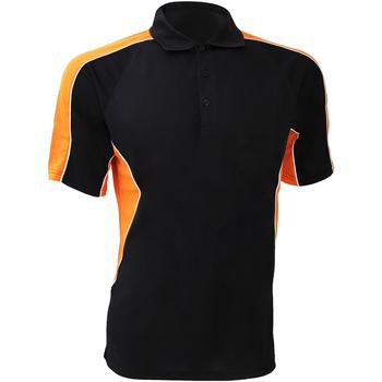 textil Herre Polo-t-shirts m. korte ærmer Gamegear KK938 Black/Orange
